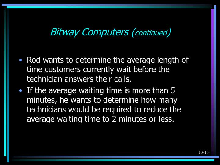 Bitway Computers (