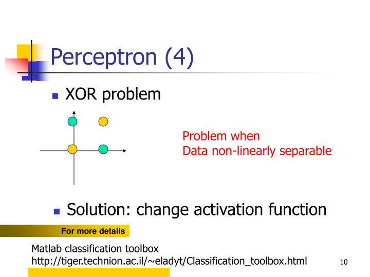 Perceptron (4)
