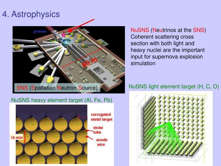 4. Astrophysics