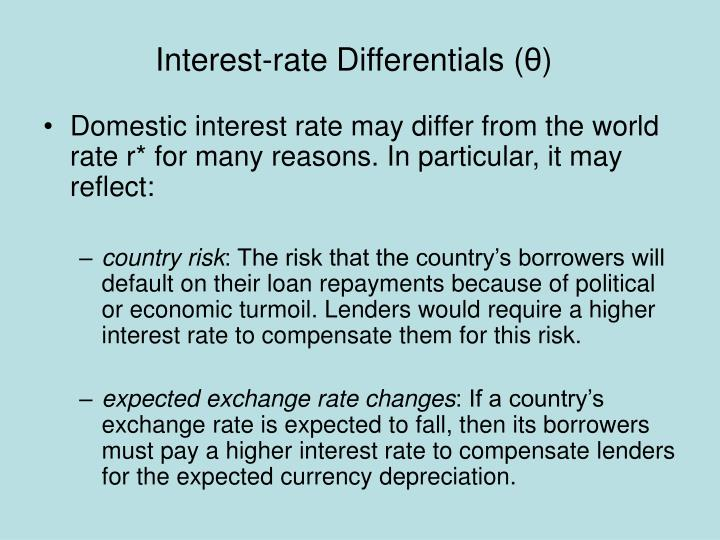 Interest-rate Differentials (