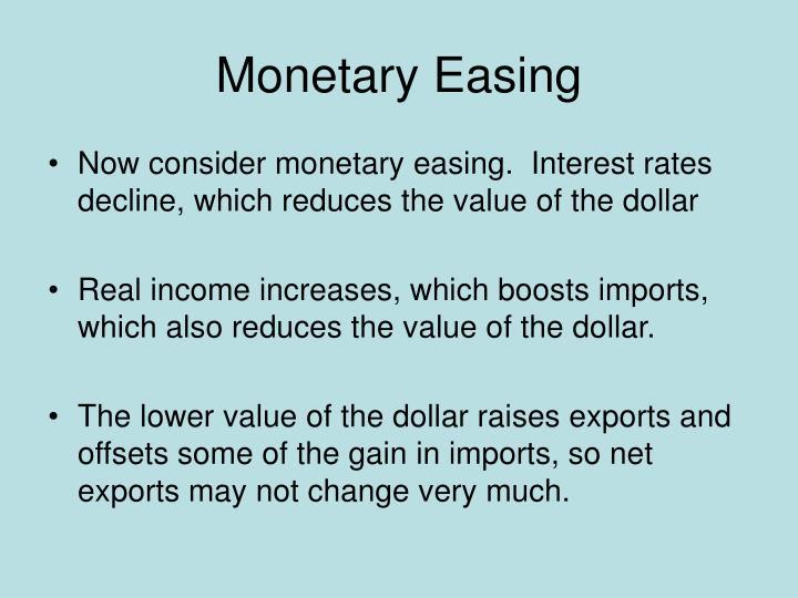 Monetary Easing