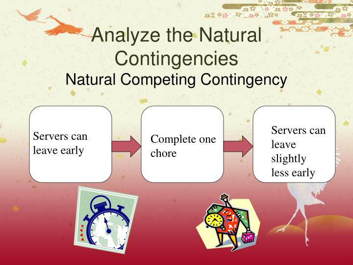 Analyze the Natural Contingencies