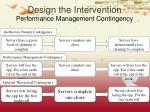 design the intervention1