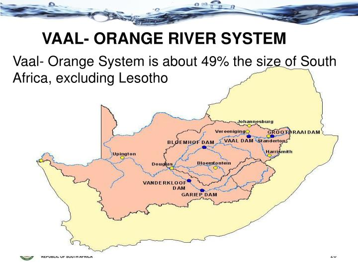 Vaal / Orange River System