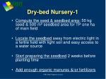 dry bed nursery 1