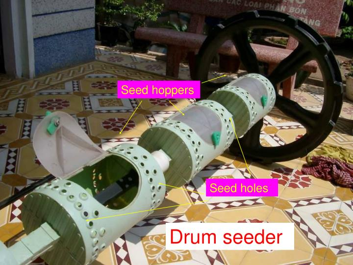 Seed hoppers