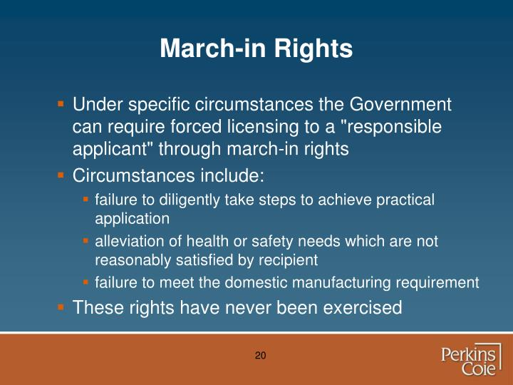March-in Rights