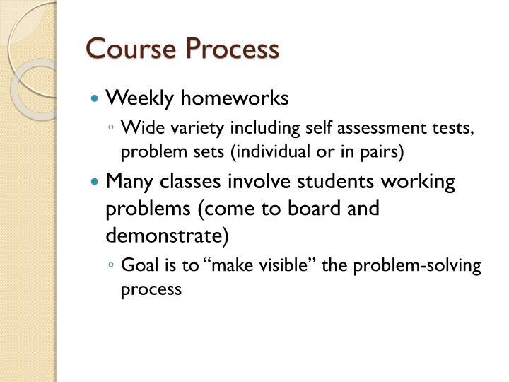 Course Process