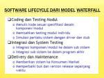 software lifecycle dari model waterfall1