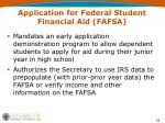 application for federal student financial aid fafsa1