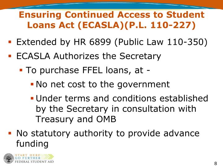 Ensuring Continued Access to Student Loans Act
