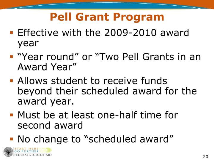 Pell Grant Program