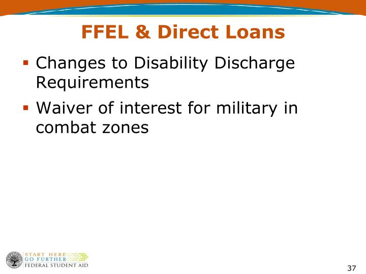 Changes to Disability Discharge Requirements