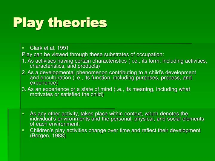 Play theories