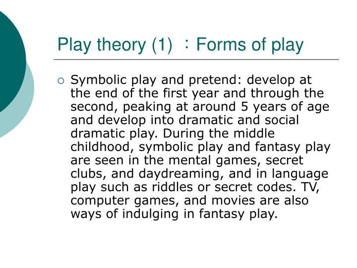 Play theory (1)