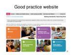 good practice website