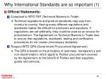 why international standards are so important 1