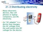 21 3 distributing electricity1