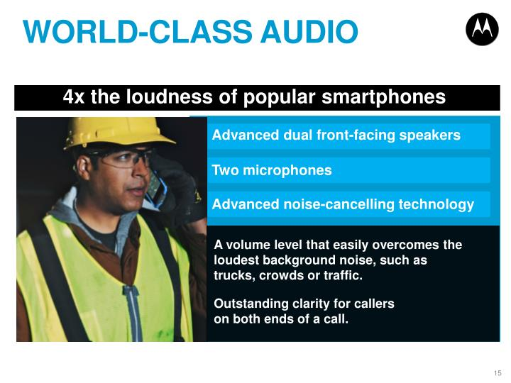 WORLD-CLASS AUDIO