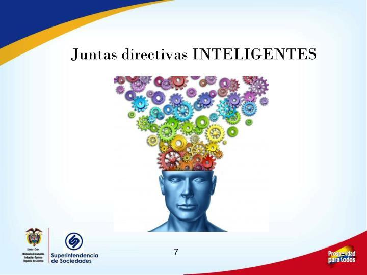 Juntas directivas INTELIGENTES