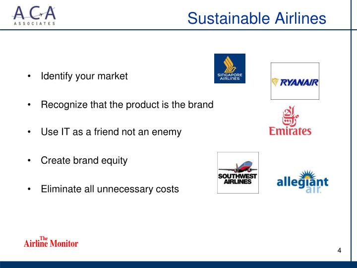 Sustainable Airlines
