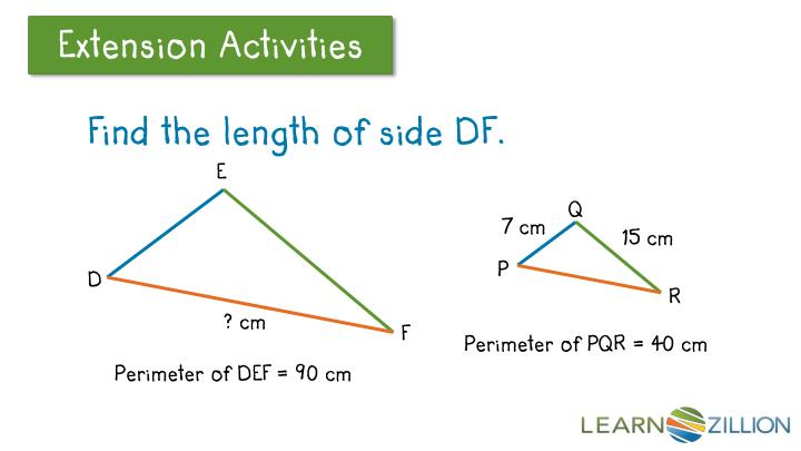 Find the length of side DF.