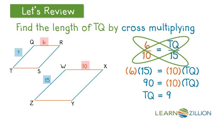 Find the length of TQ by