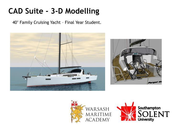 CAD Suite - 3-D Modelling