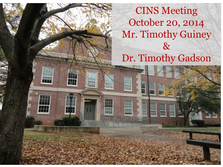 CINS Meeting