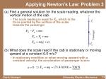 applying newton s law problem 31