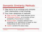 semantic similarity methods