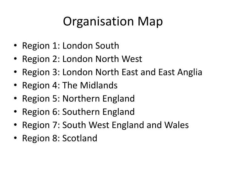 Organisation Map