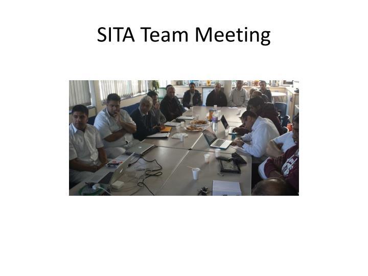 SITA Team Meeting