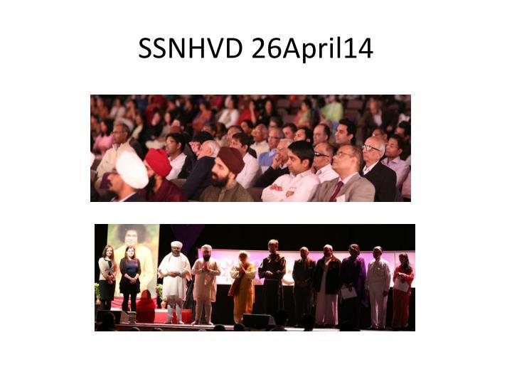 SSNHVD 26April14