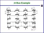 20 bus example