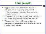 9 bus example1