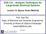 ece 530 analysis techniques for large scale electrical systems