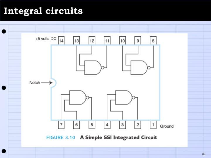 Integral circuits