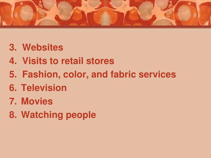 3.  Websites