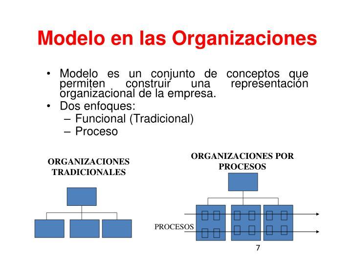 Modelo en las Organizaciones