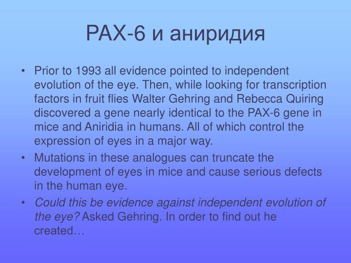PAX-6