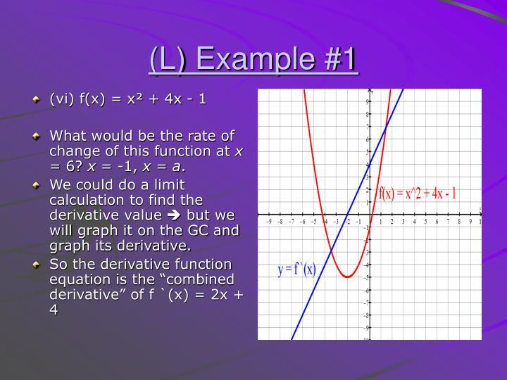 (vi) f(x) = x² + 4x - 1