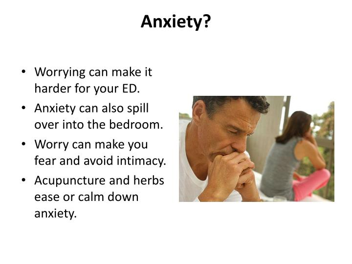Anxiety?