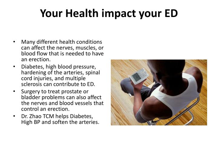 Your Health impact your ED