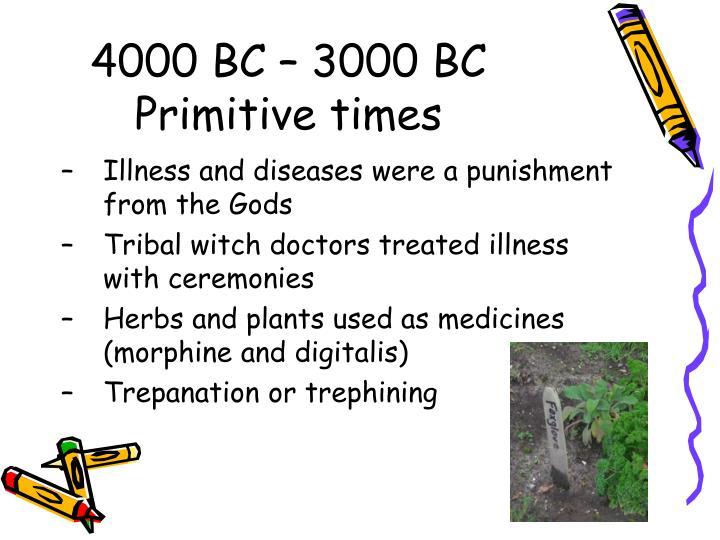 4000 BC – 3000 BC