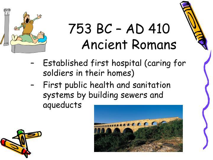 753 BC – AD 410