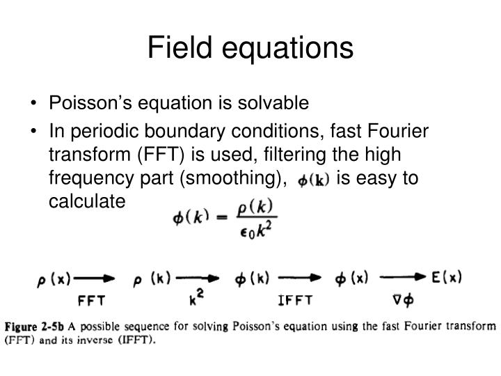 Field equations