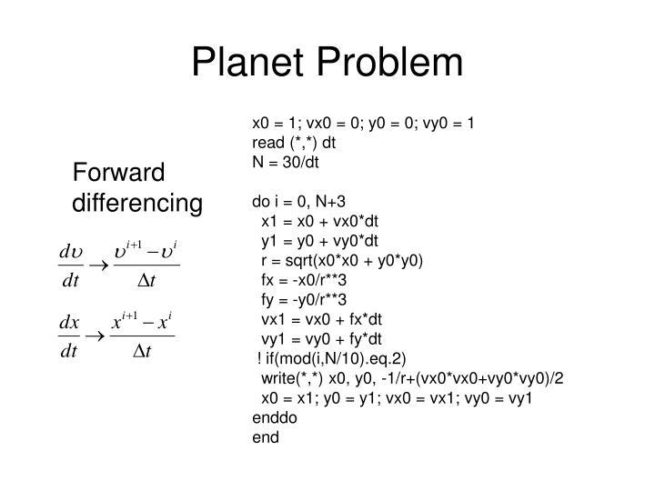 Planet Problem