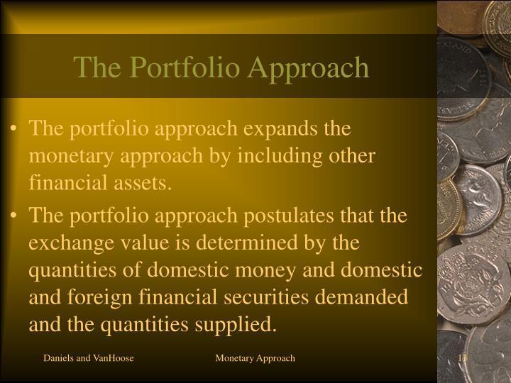 The Portfolio Approach