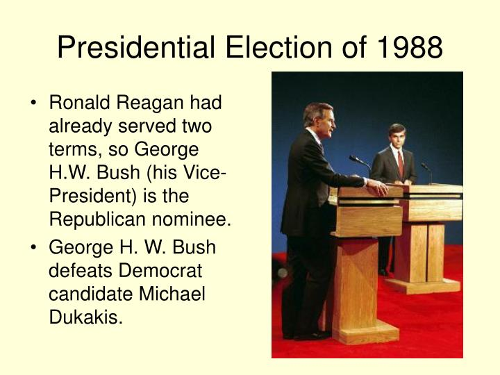Presidential election of 1988